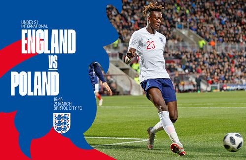 England U21s squad named for games with Poland and Germany