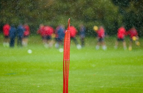 League game postponed for development group
