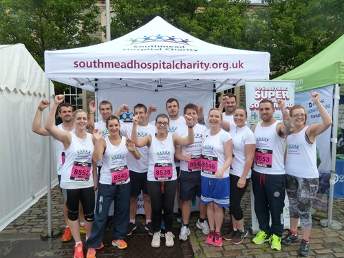 Hospital staff get active with Community Foundation