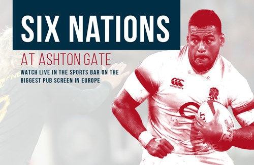 Watch the Six Nations at Ashton Gate Stadium