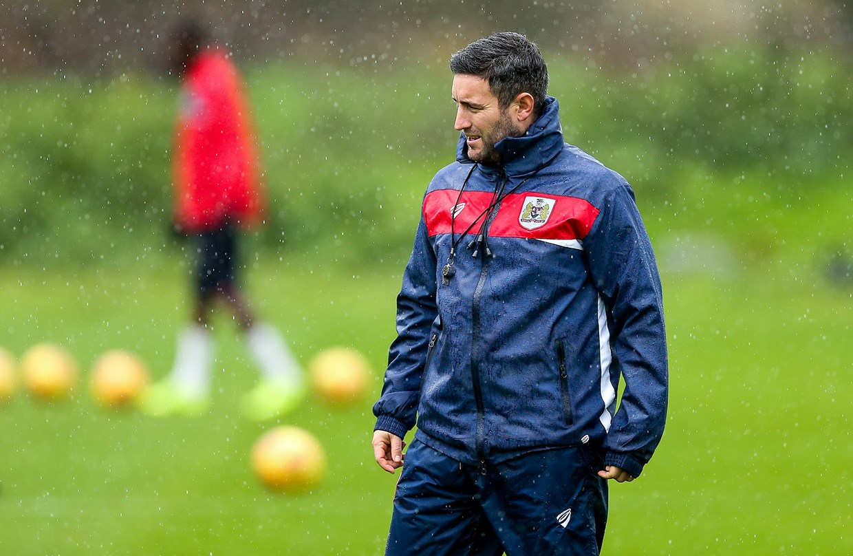 Video: Lee Johnson Pre-Blackburn Rovers away thumbnail
