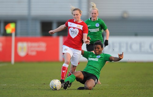 Report: Bristol City Women 0-0 Brighton and Hove Albion