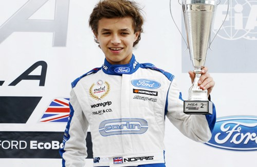 Norris Takes Top Spot After Rockingham Win