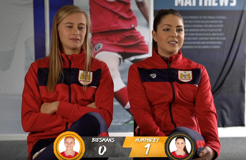 Video: '1 on 1' with Bristol City Women
