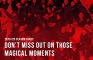 Call to buy your new 2019/20 season card