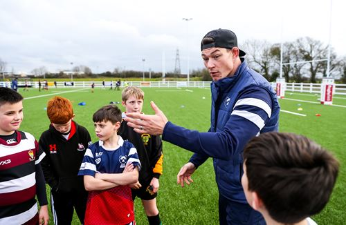 Gallery: First team pair visit Community Foundation camp