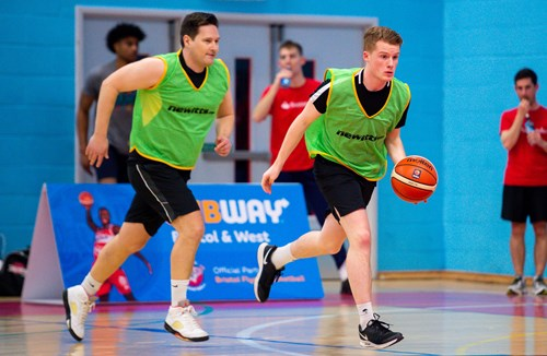 Video: Bristol Flyers Corporate Basketball Tournament