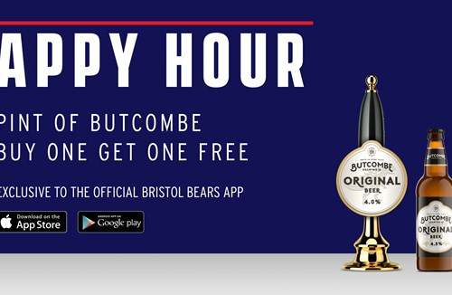 'Butcombe Appy hour' - Buy one get one free