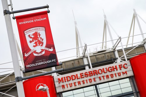 Pay on the night at Boro
