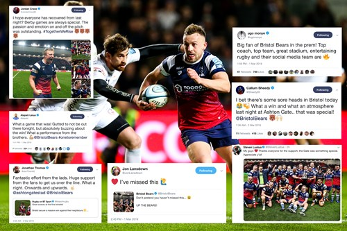 Social media round-up: Bears deliver on derby day