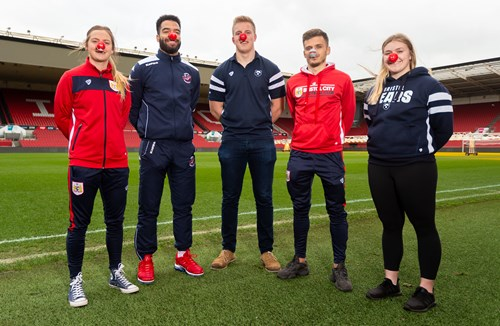 Bristol Sport supports Red Nose Day 2019