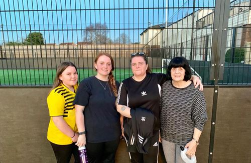 Football in the community across four generations