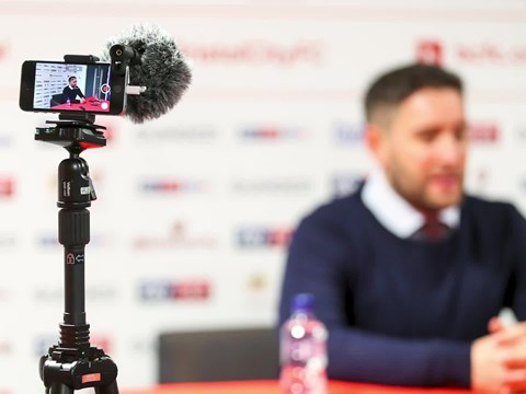 Audio: Lee Johnson Pre-Leeds United home press conference