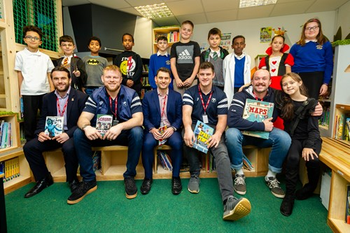 Video: Bears go back to school for World Book Day