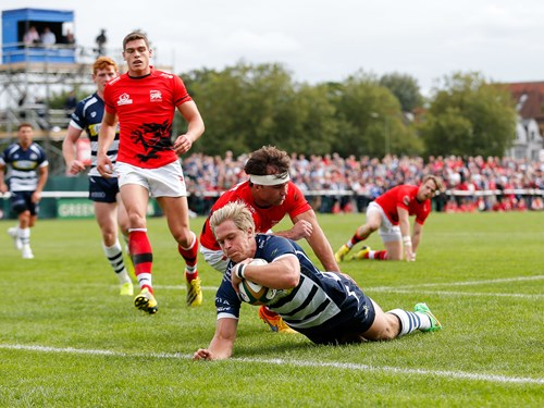 Report: London Welsh 22-36 Bristol Rugby