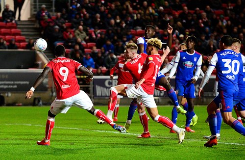 Report: Bristol City 1-1 Ipswich Town