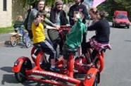 Charity 7-Seater Bike Comes To Ashton Gate