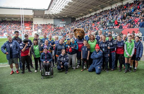 Mixed Ability stars shine at Ashton Gate