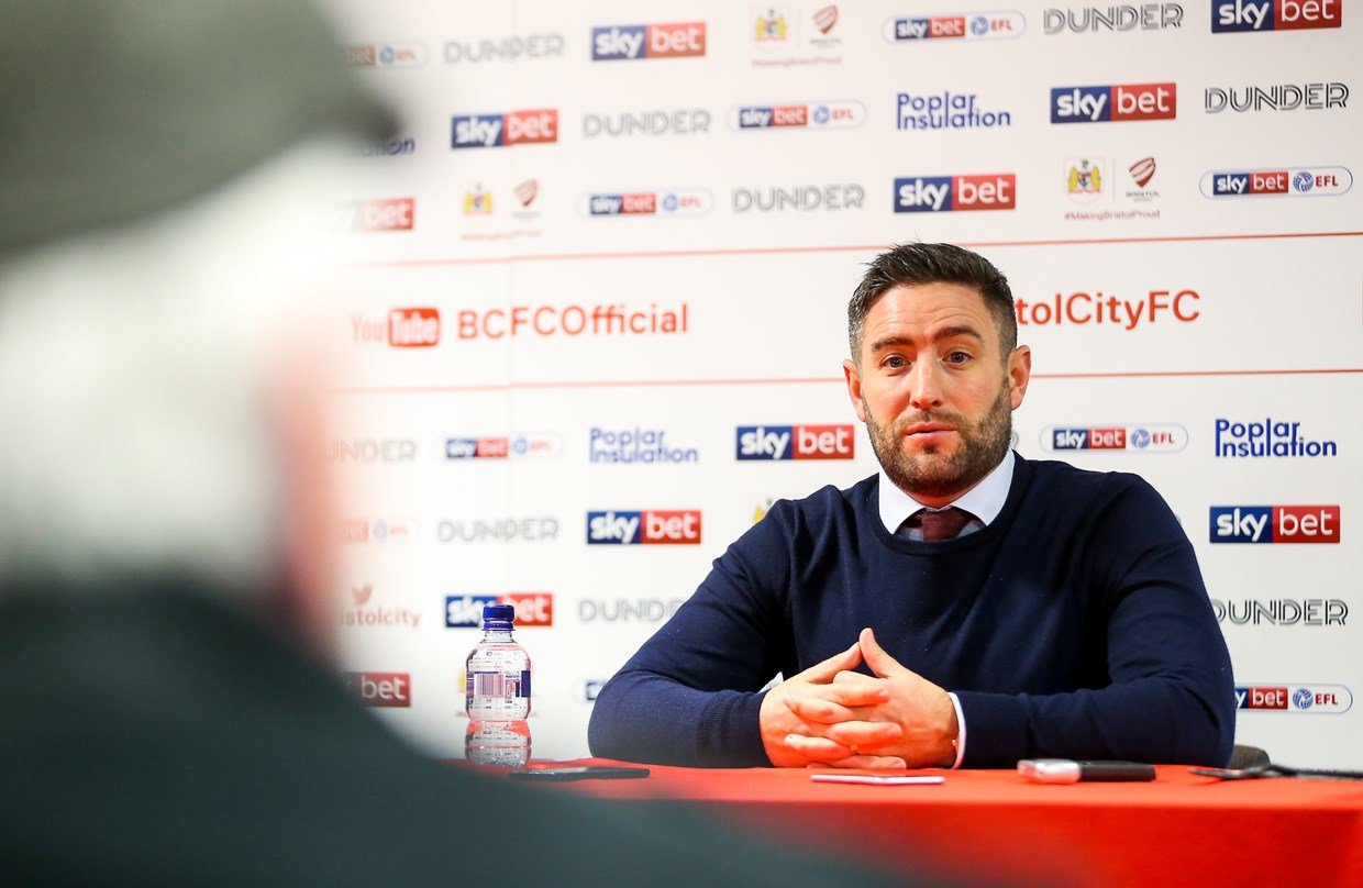 Video: Lee Johnson Pre-Sheffield United away thumbnail