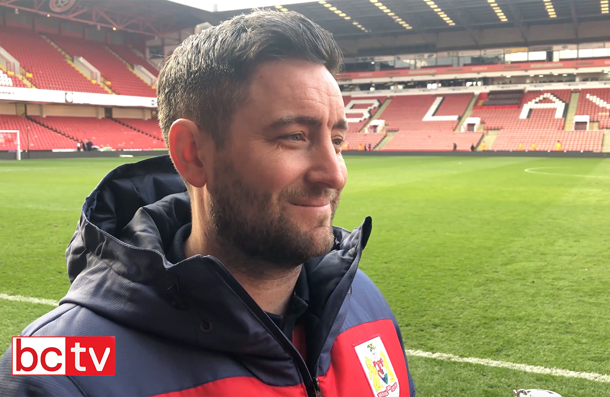 Video: Lee Johnson post-Sheffield United away thumbnail