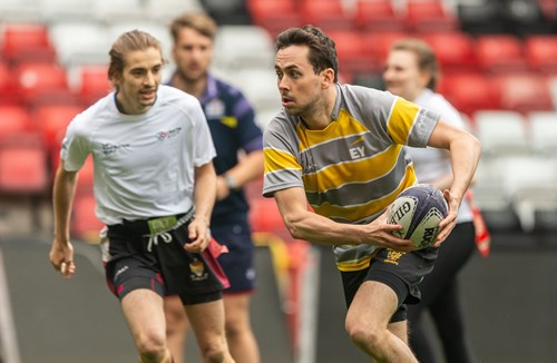 Corporate tag rugby: who's playing?