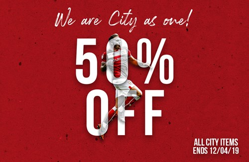 Huge discount available to City fans