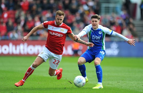 Report: Bristol City 2-2  Wigan Athletic