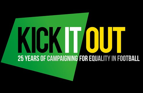 City support Kick It Out campaign