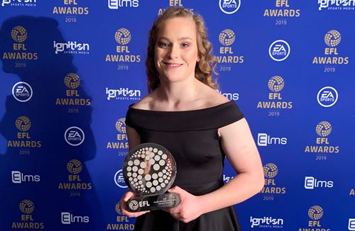 Libby Sims named CEFA player of the Season