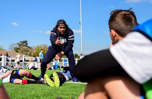 Gallery: Luatua, Sheedy and Uren host Skills Masterclass