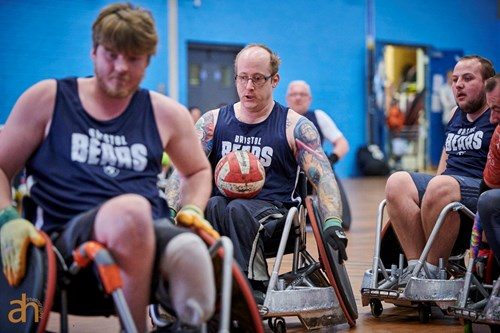 Bears Wheelchair Rugby team star in Poole tournament