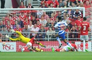 Report: Bristol City 0-2 Reading