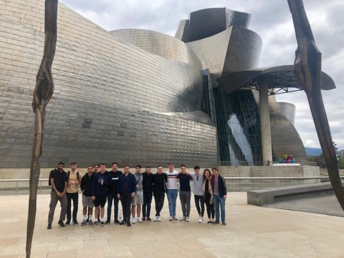 Community Trust students visit Bilbao on educational trip
