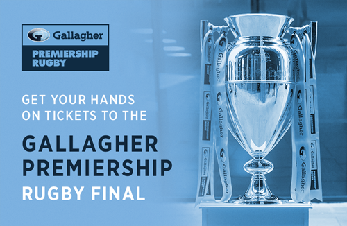 Clinch Premiership Final tickets with Gallagher Home Insurance