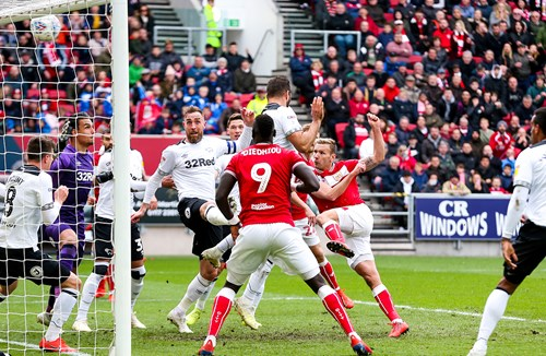 Report: Bristol City 0-2 Derby County