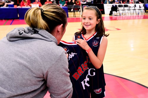 Sophie Atwill awarded Bristol Flyers fan of the year