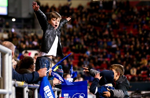 Gallery: Over 20,000 supporters pack Ashton Gate