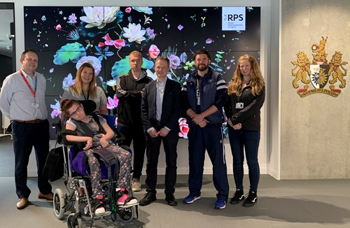Disability Journalism Programme visits Royal Photographic Society