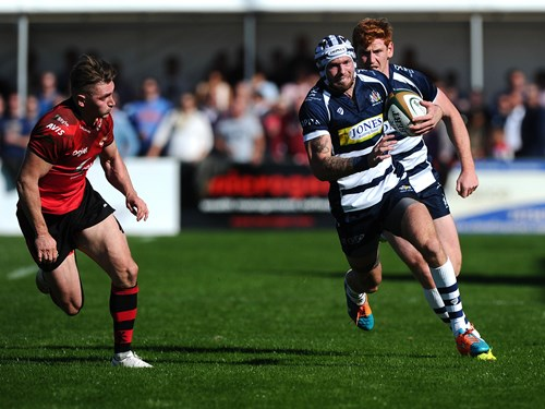 Report: Jersey 7-24 Bristol Rugby