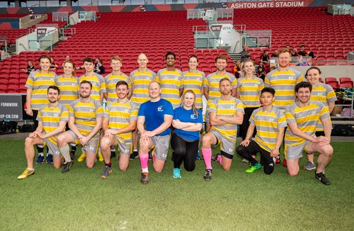 Gallery: Nascence Corporate tag rugby - team photos