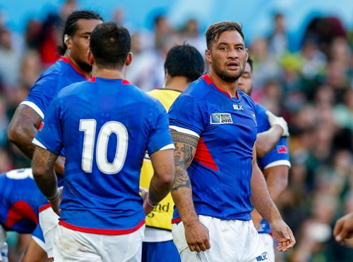 Lam scores in losing Samoa cause, Piutau's Tonga edged out by Georgia