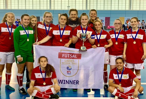 Community Trust futsal team crowned national champions