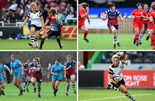 Bears Women quartet set for Twickenham showdown