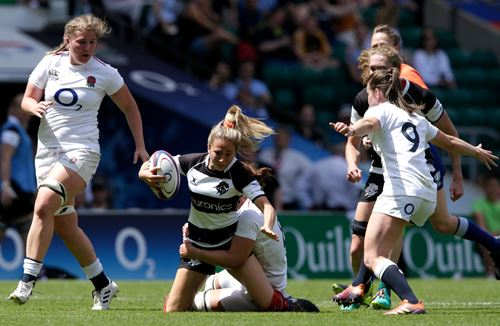 Red Roses triumph over the Barbarians in historic test at Twickenham