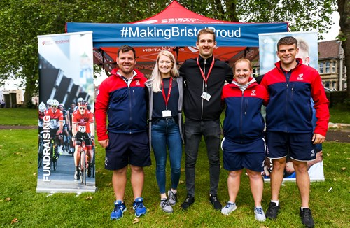 Santander Scavenger Hunt raises money for Bristol Sport Foundation