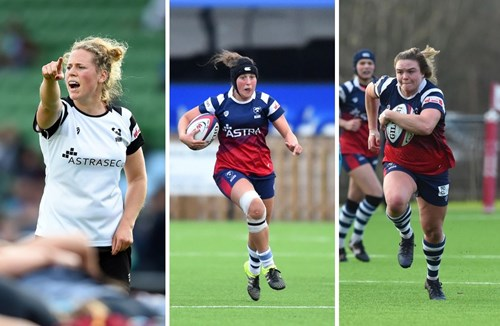 Bears trio named in Red Roses squad for Super Series