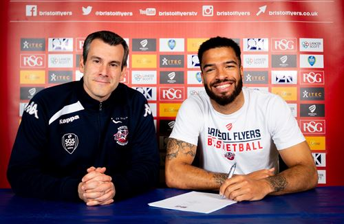 Champion returns for second season with Bristol Flyers