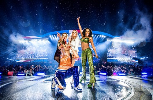 Spice Girls put on show-stopping performance in the rain