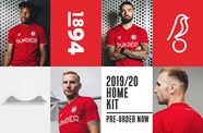 2019/20 home kit on online pre-order