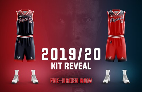 Flyers unveil 2019/20 home and away kit